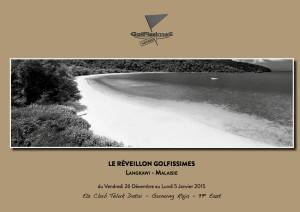 La plaquette du Réveillon Voyages Golfissimes à Langkawi !