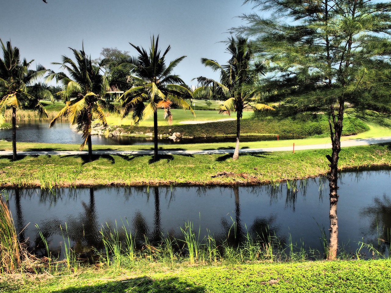 Banyan Golf, Hua Hin décembre 2015