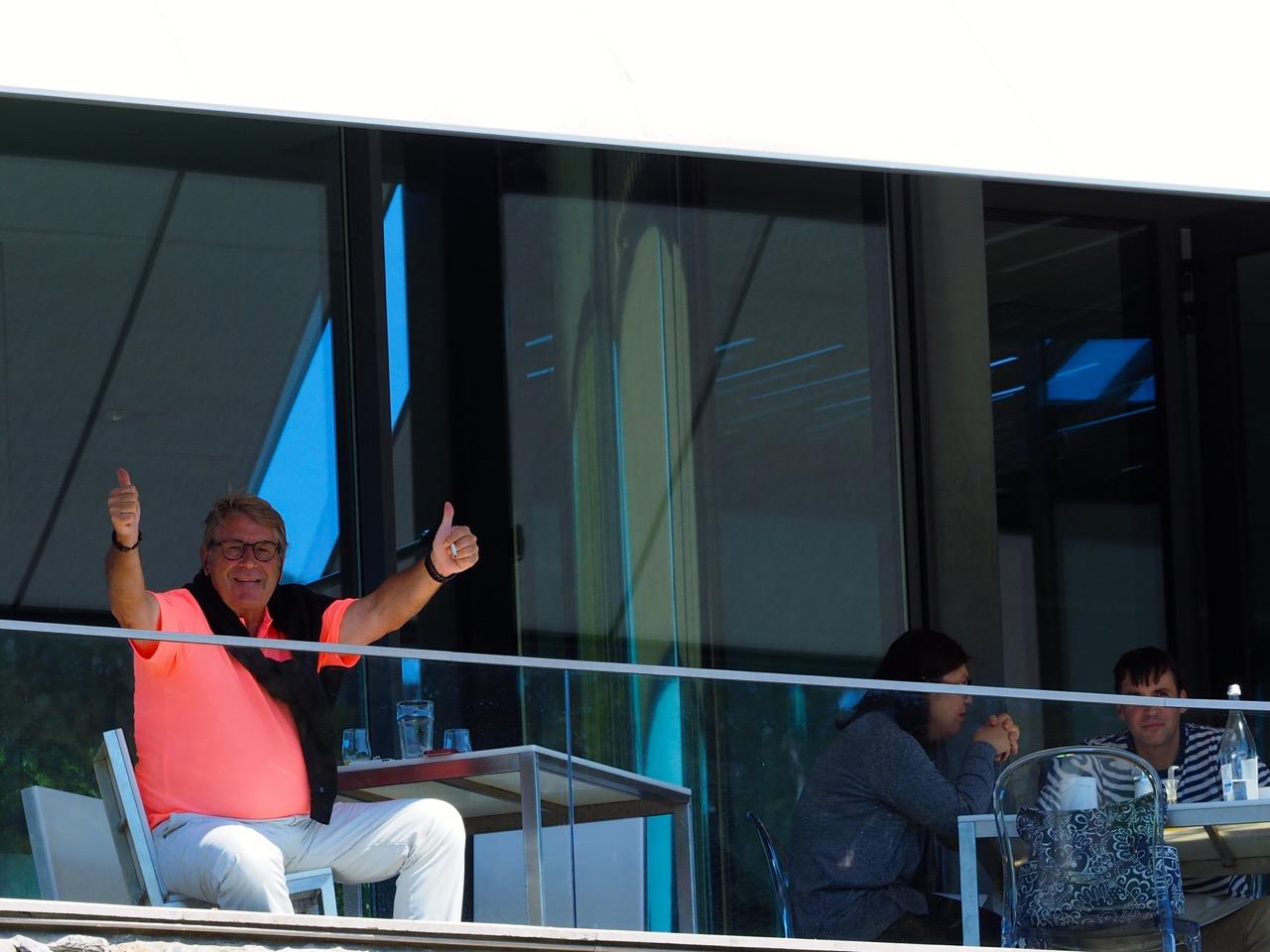 Hervé Bonutto savoure la victoire