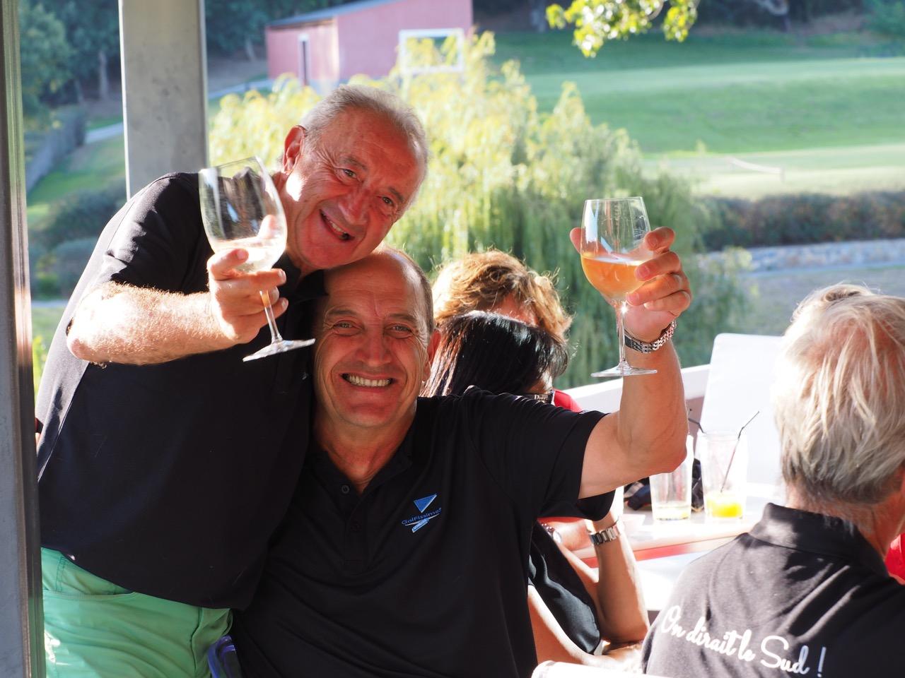 Guy Darhi et Marcel Tixier, artisans de la victoire du sud !