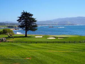 Pebble Beach Golf Links …l'heure du dessert