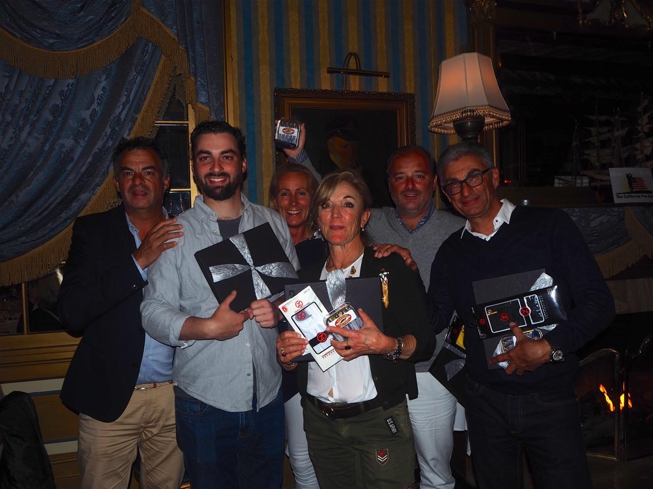 Les leaders en brut, Thomas Linard, Martine Haladjian, Olivier Masse et Serge Haladjian.