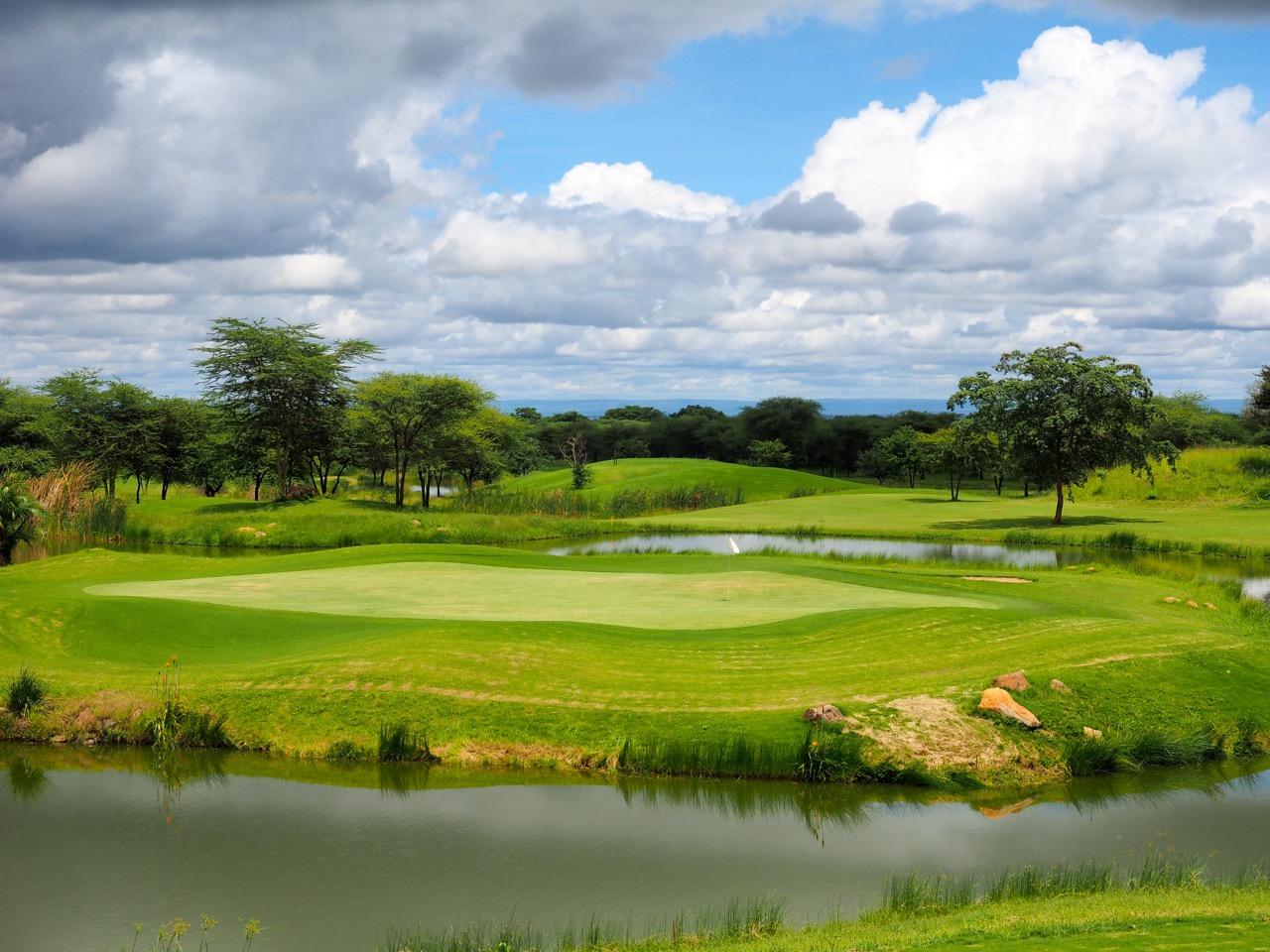 Green du 18 Kili Golf