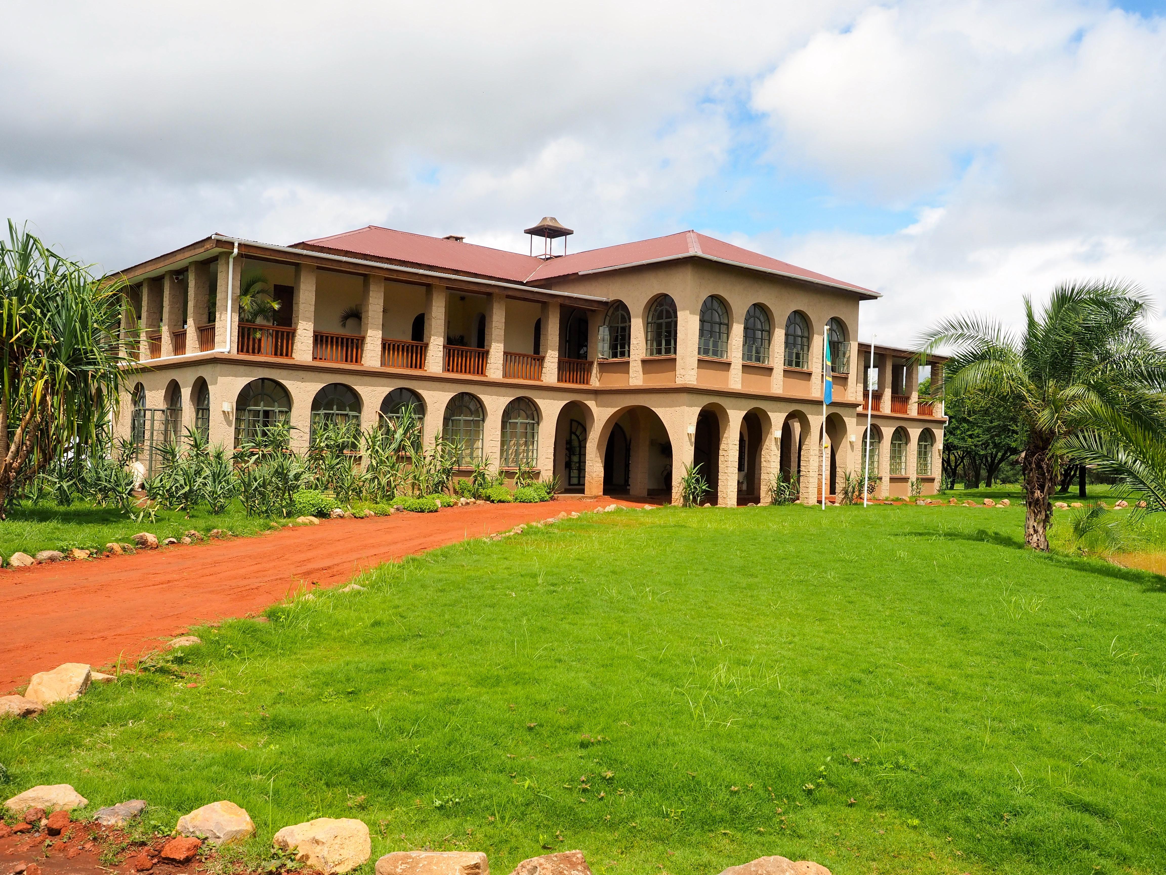 Le club-house du Kili Golf