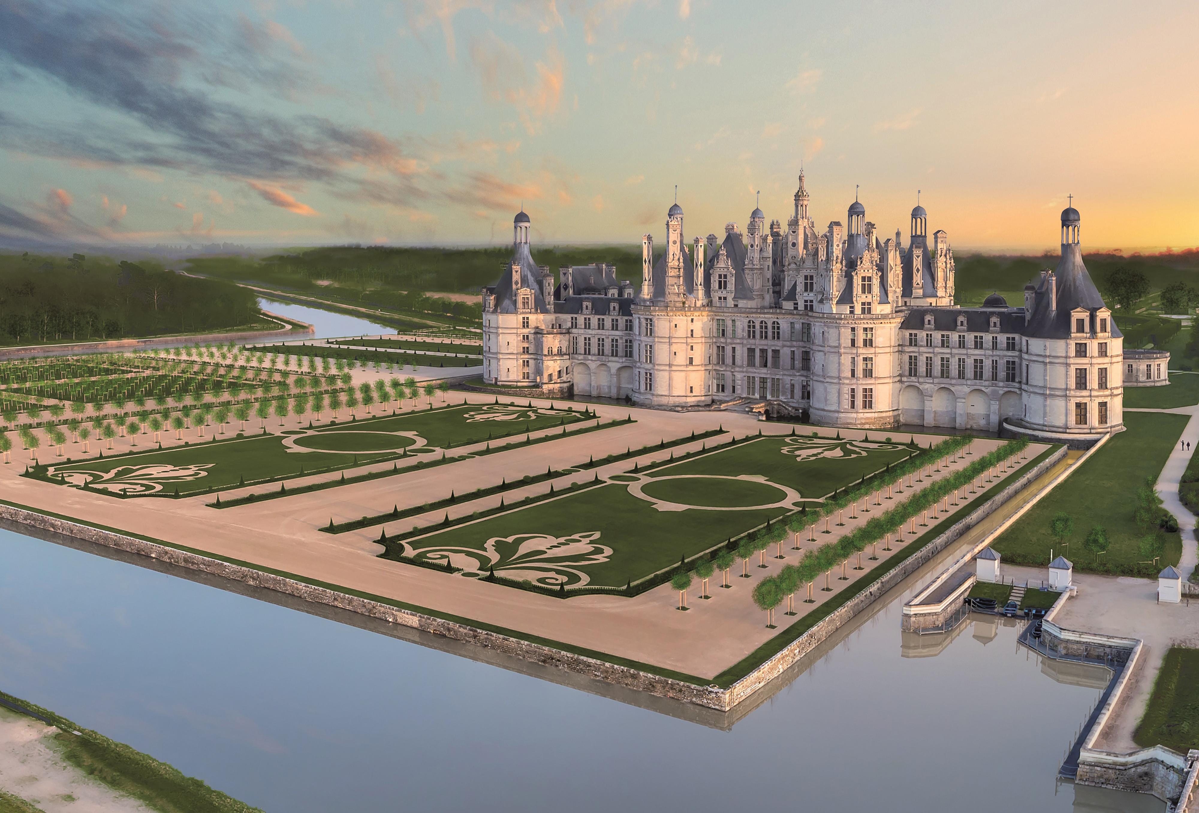 Château - Jardins Francaise