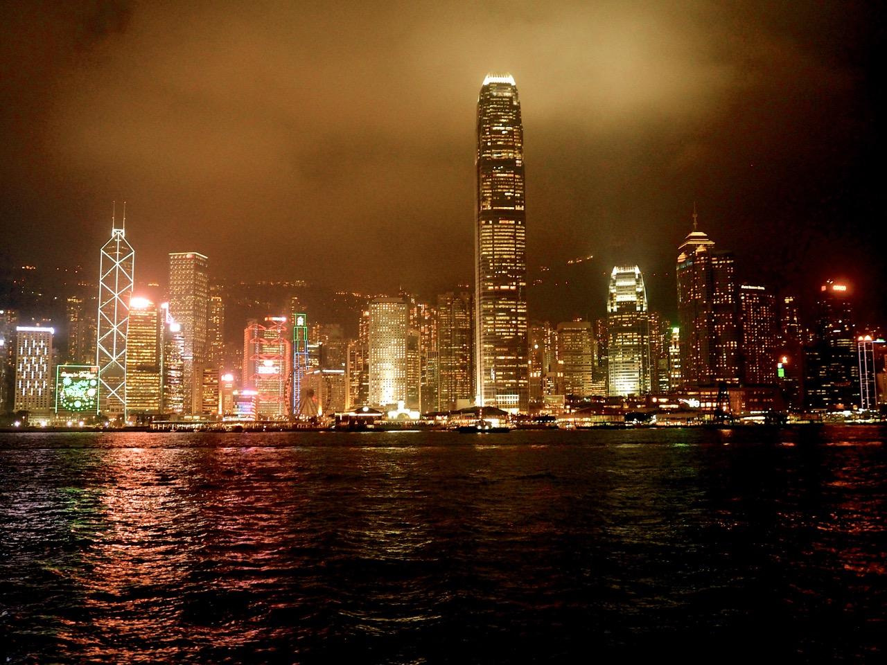 La magie de la baie de Hong-Kong