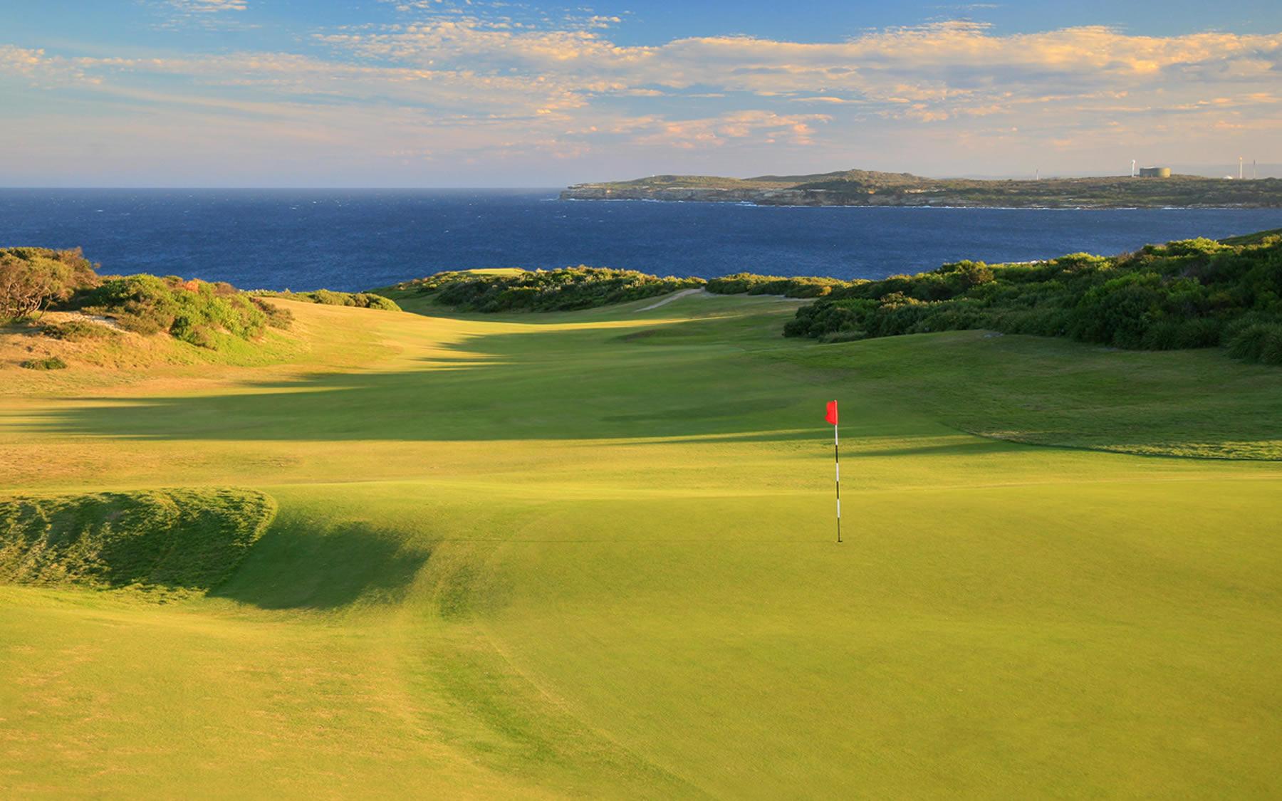 New South-Wales Golf Club à Sydney, lors de l'étape 3