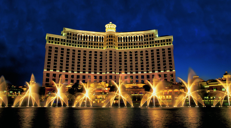 L'hôtel Bellagio. Las Vegas. Dernière étape