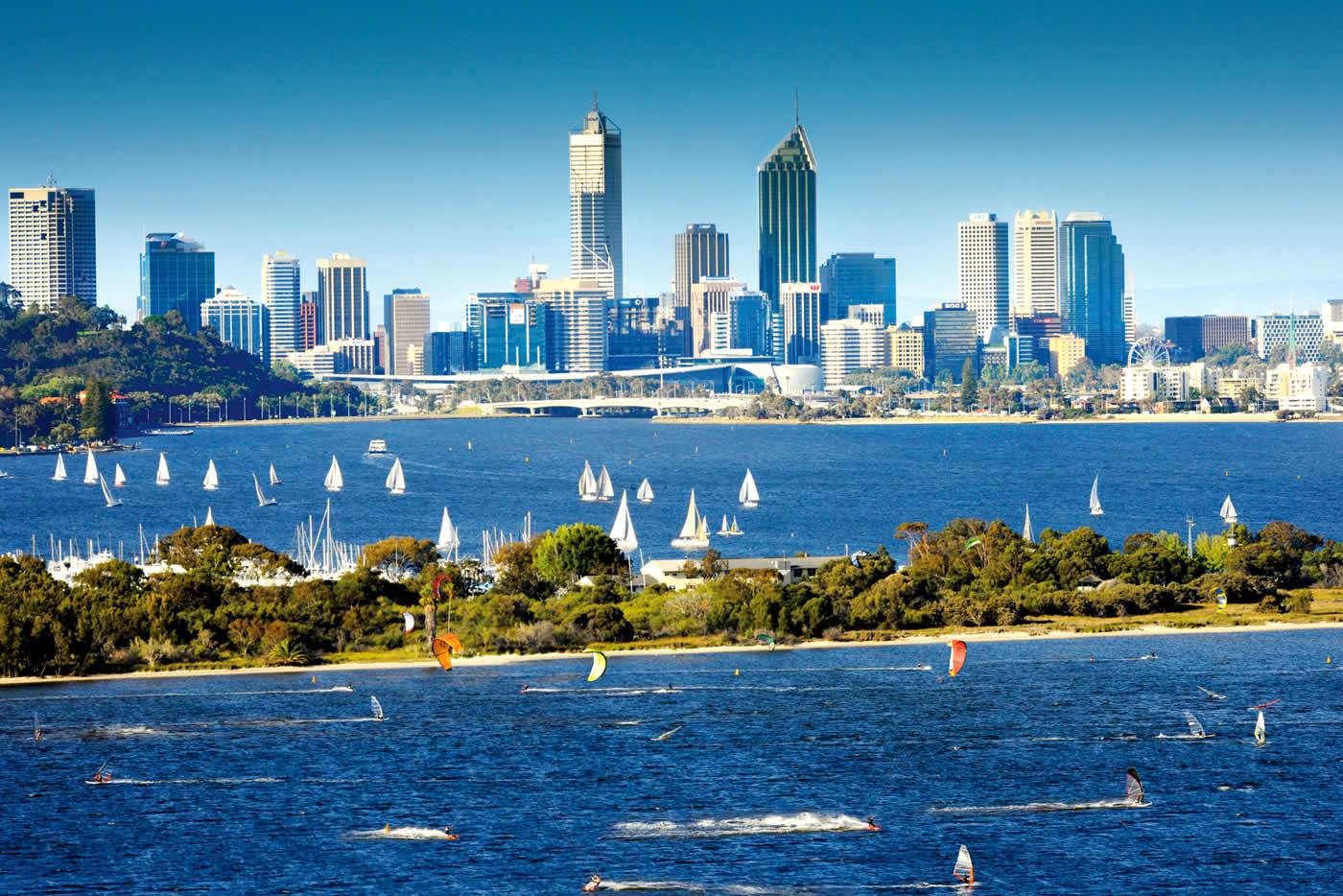 Perth, Etape 2