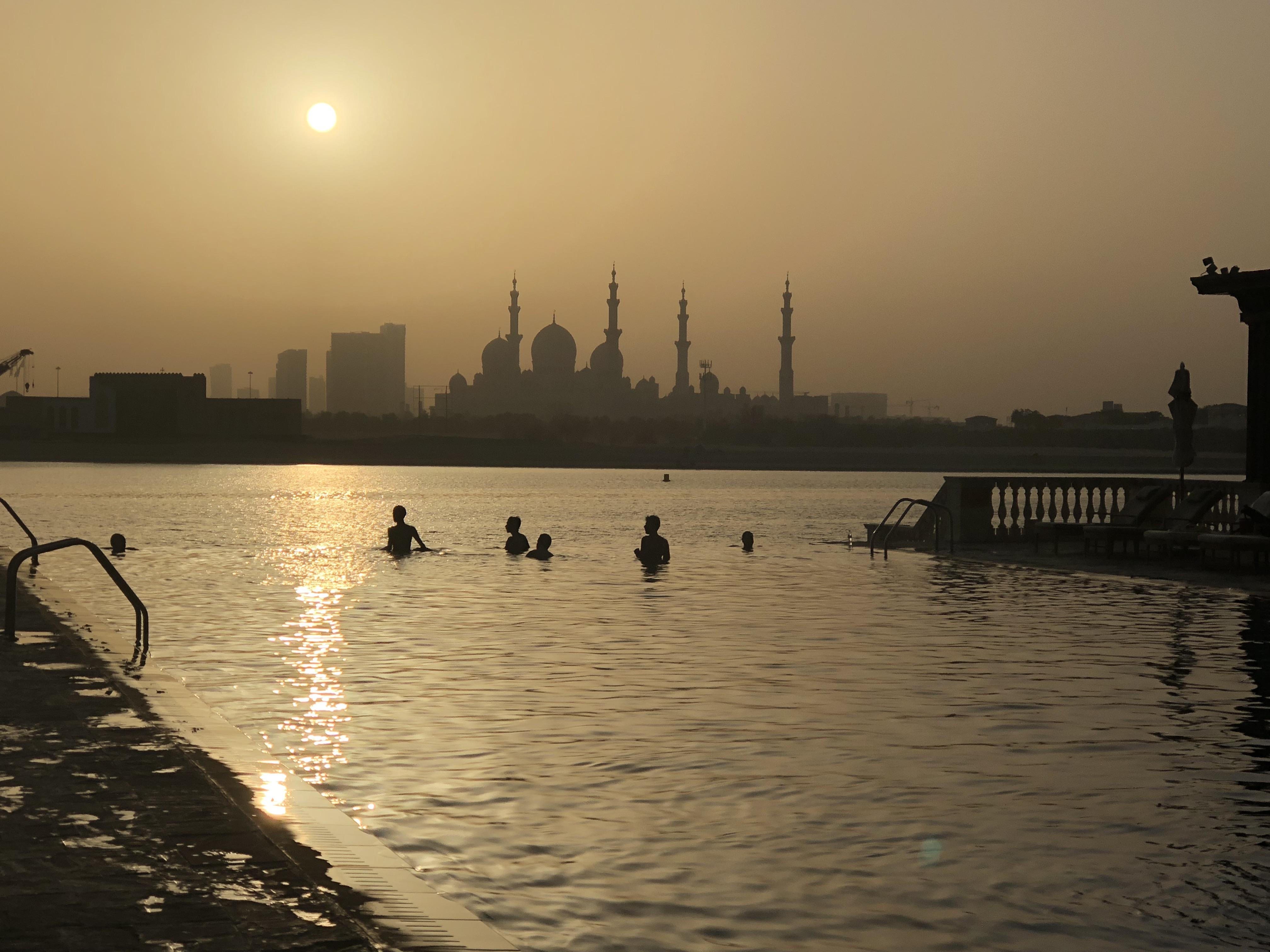 Vue du Shangri-La Abu Dhabi