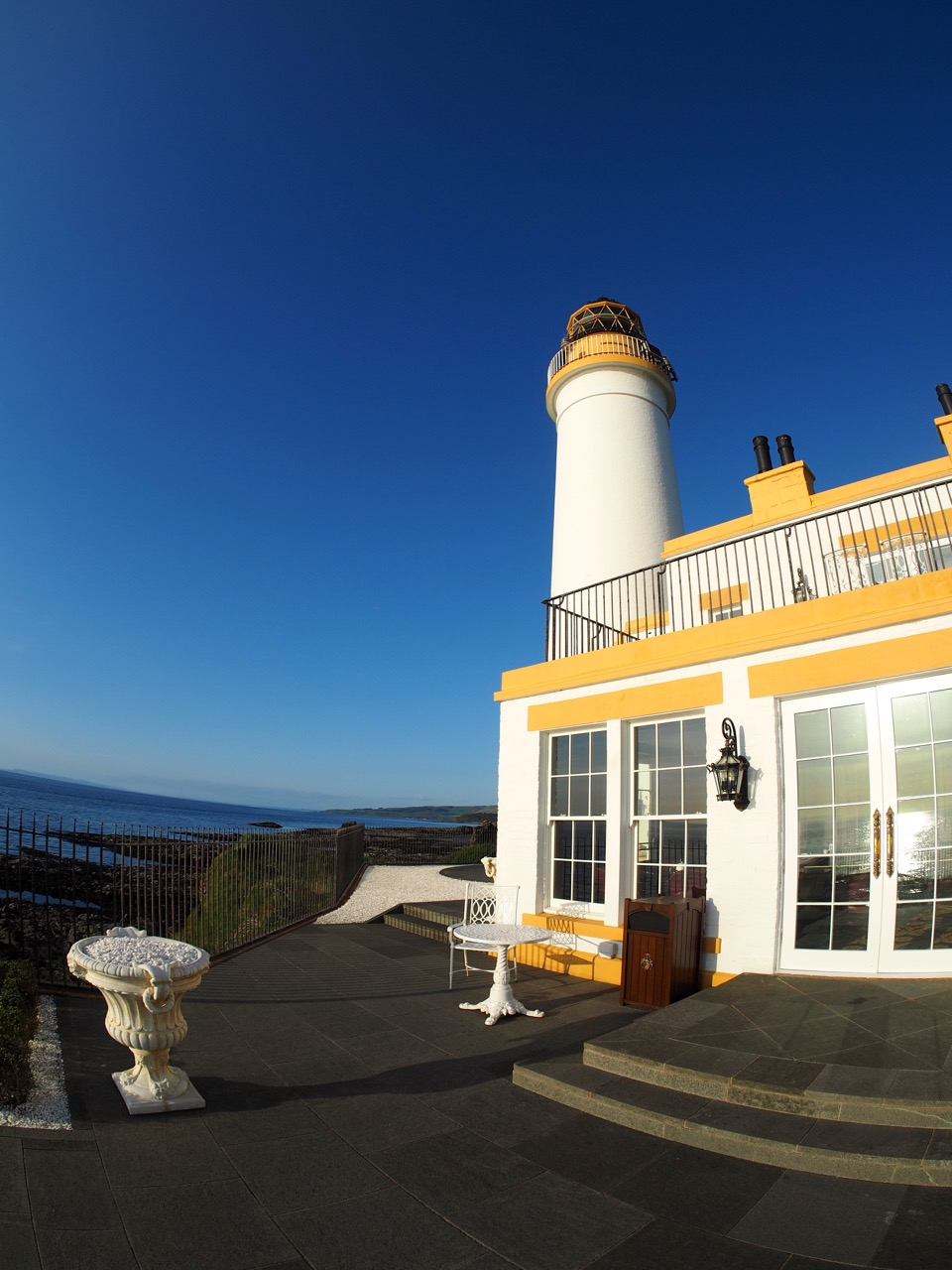 Le célèbre phare de Turnberry (halfway house)