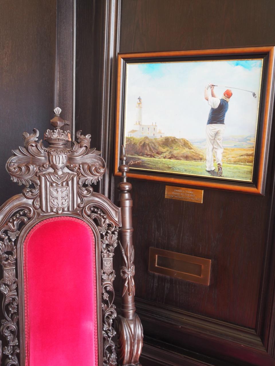 Le fauteuil du golfeur
