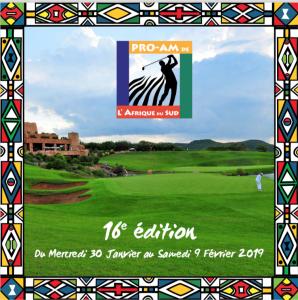 Pro-Am de l'Afrique du Sud 2019 …la brochure !!