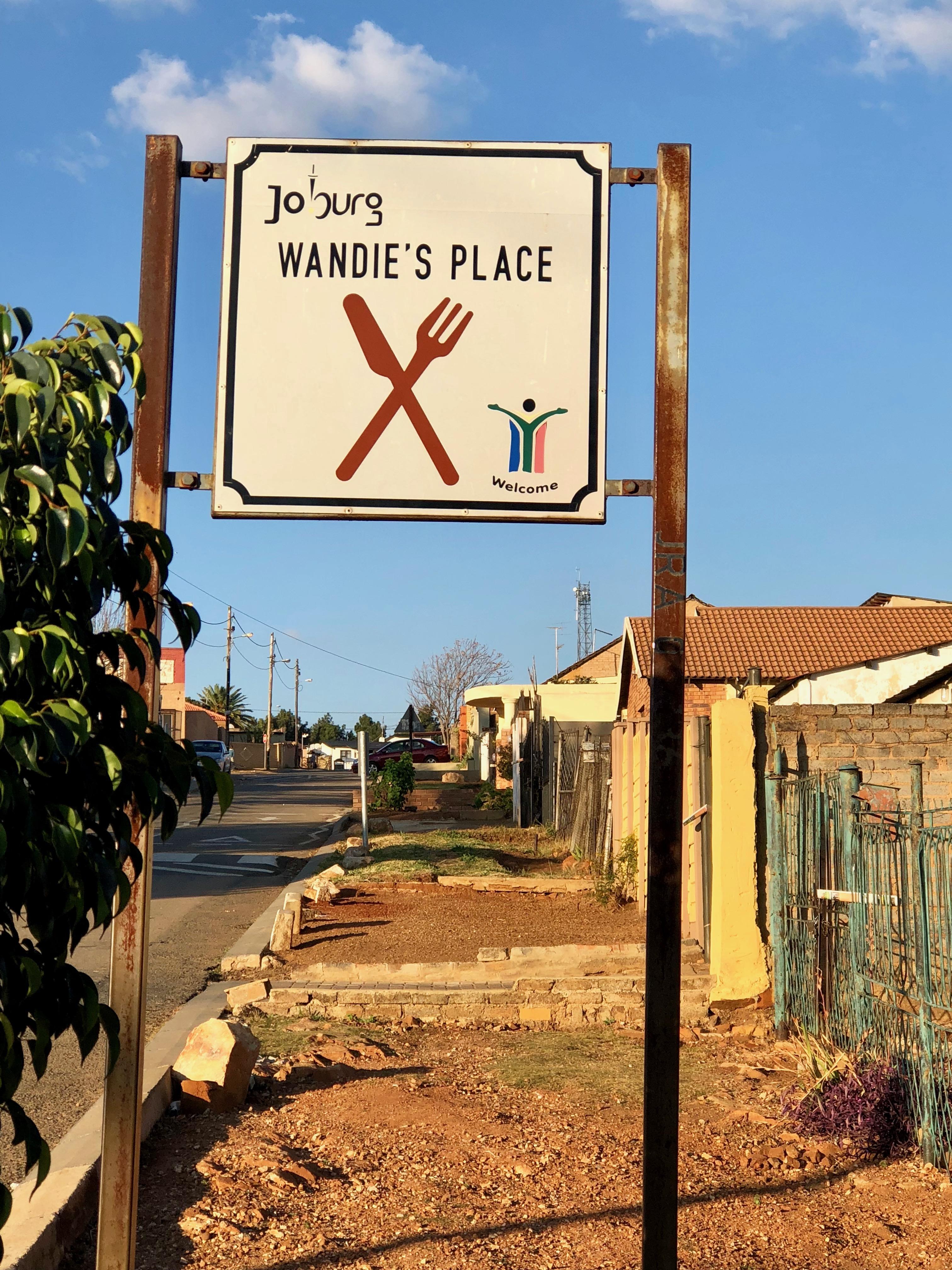 Wandie's restaurant à Soweto