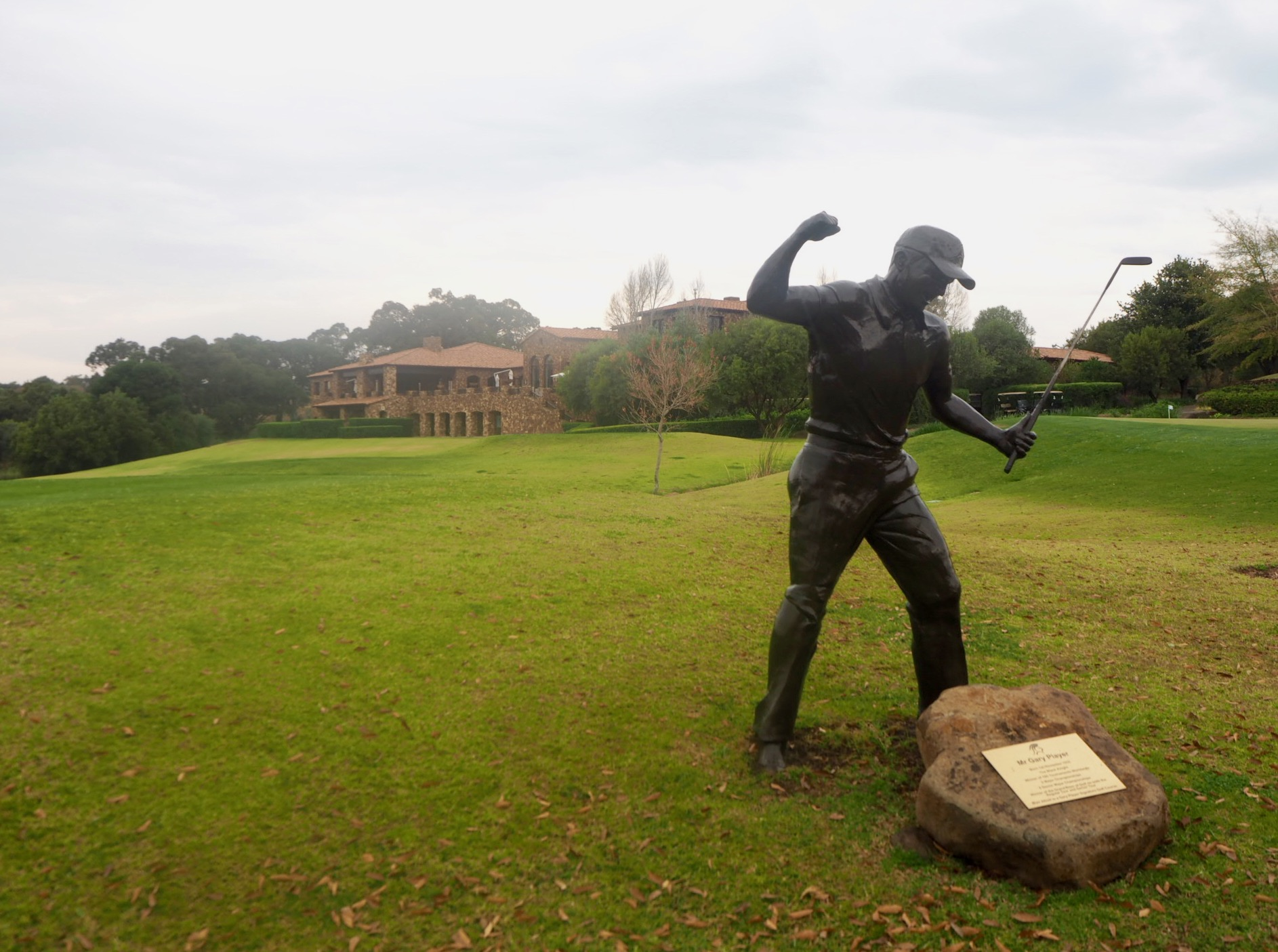 Hommage à Gary Player au Blair Atholl Club