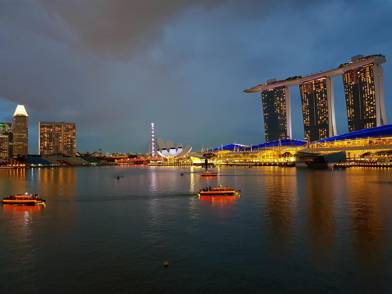 Singapour - dernière étape du Grand Voyage 2017