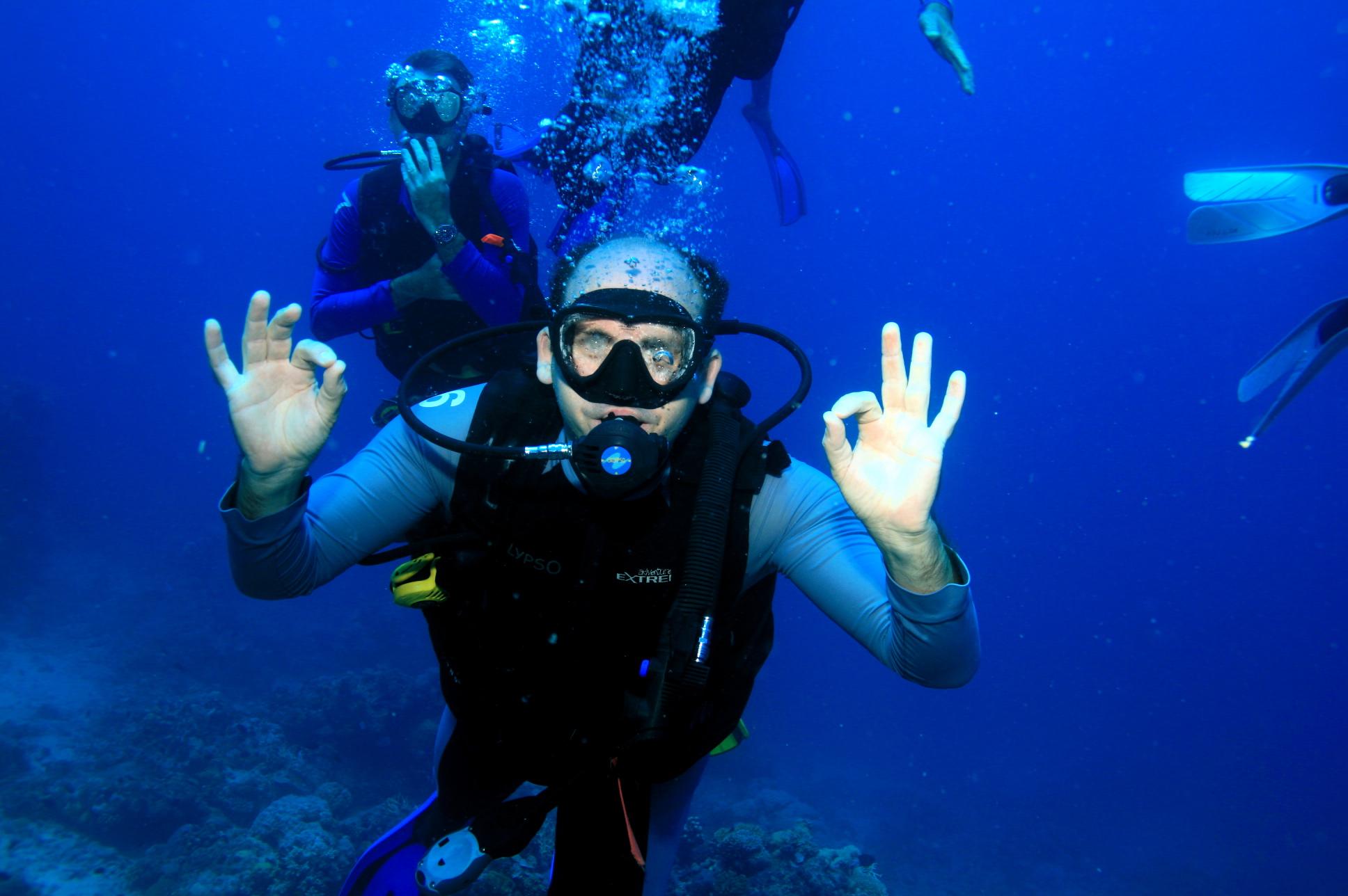En plongée - Grande Barrière de Corail - Grand Voyage 2008