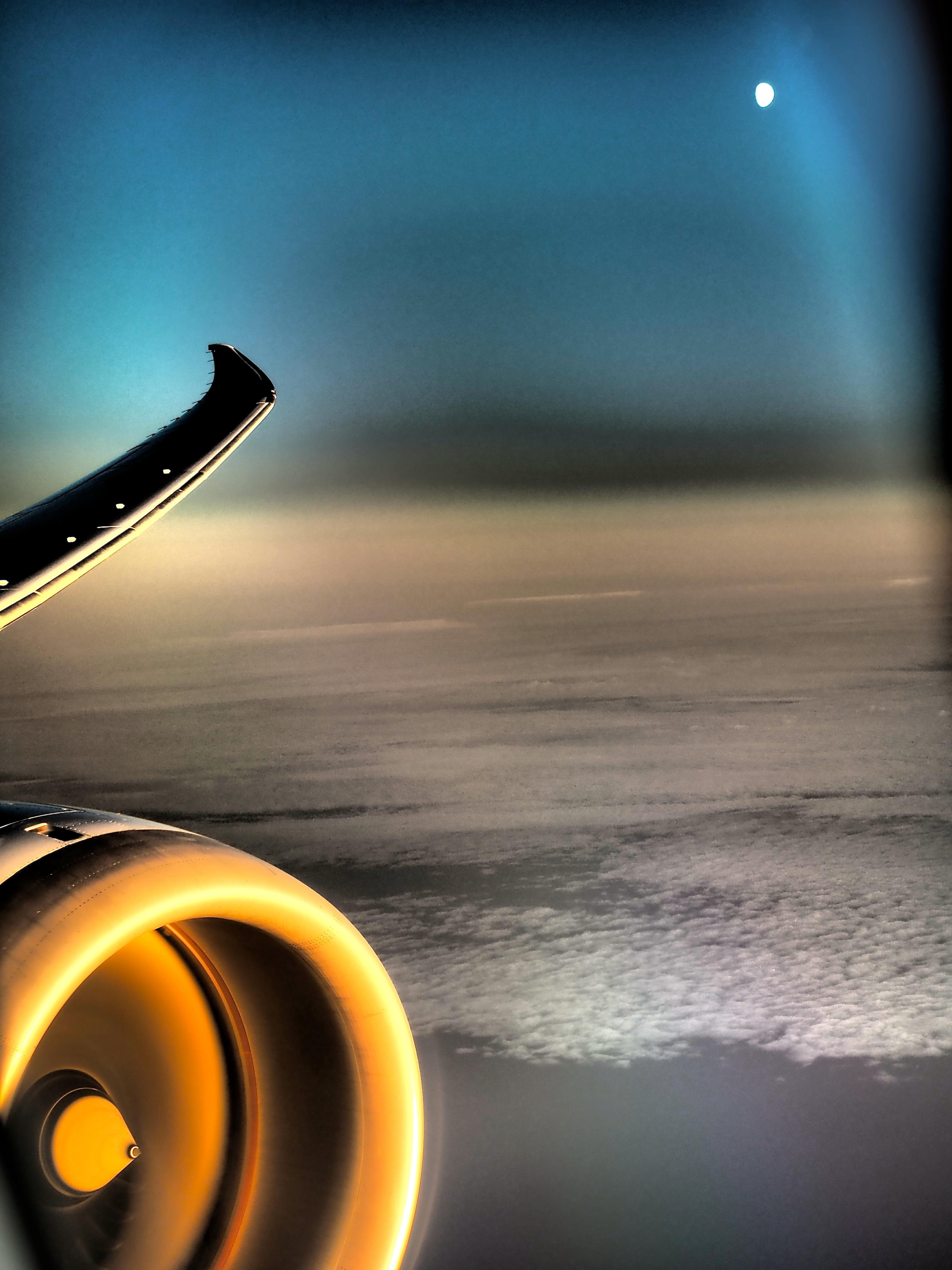 Retour du Japan sur 787 ANA en 2015
