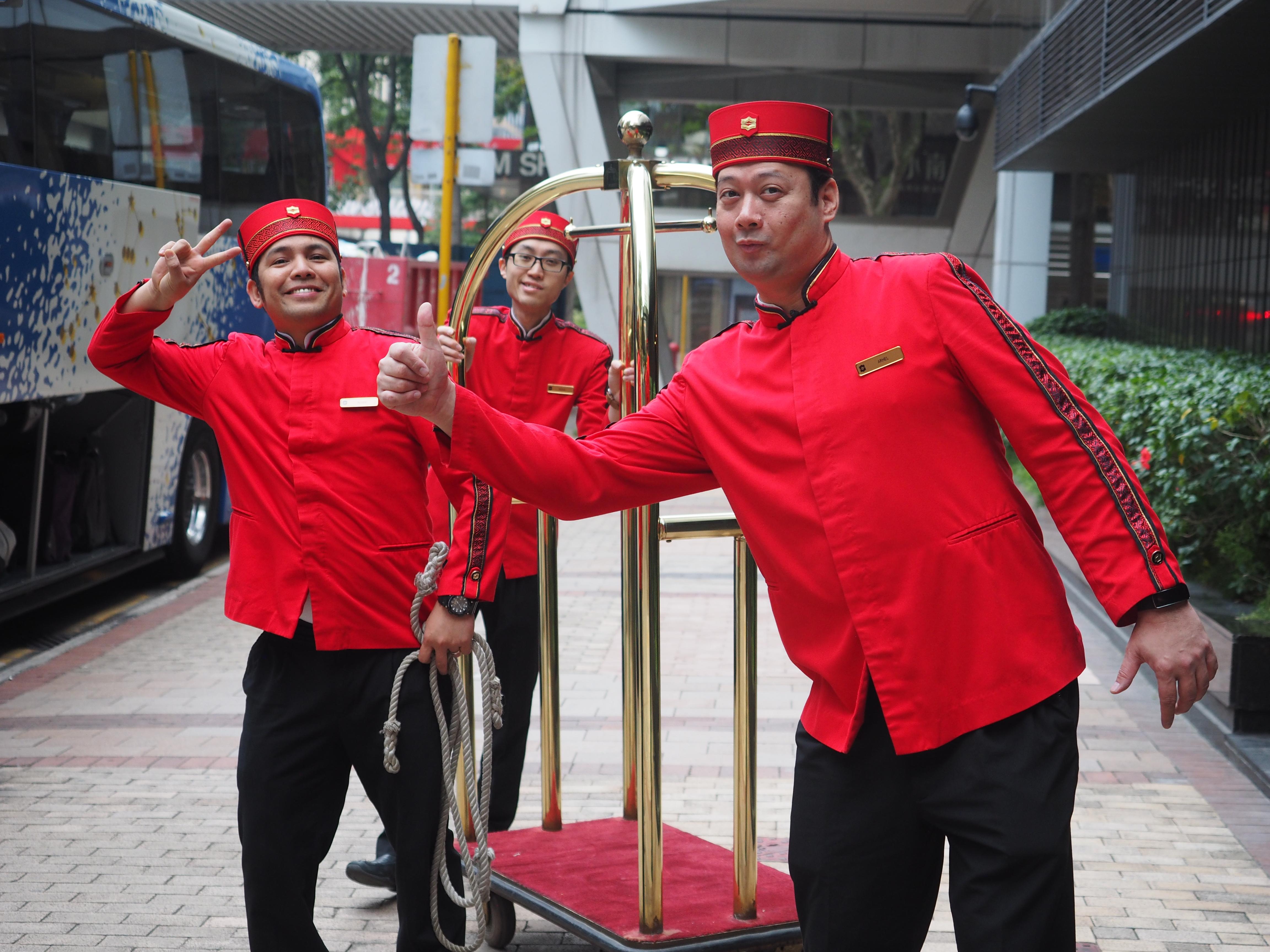 Accueil au Shangri-La Hong-Kong - Grand Voyage 2017