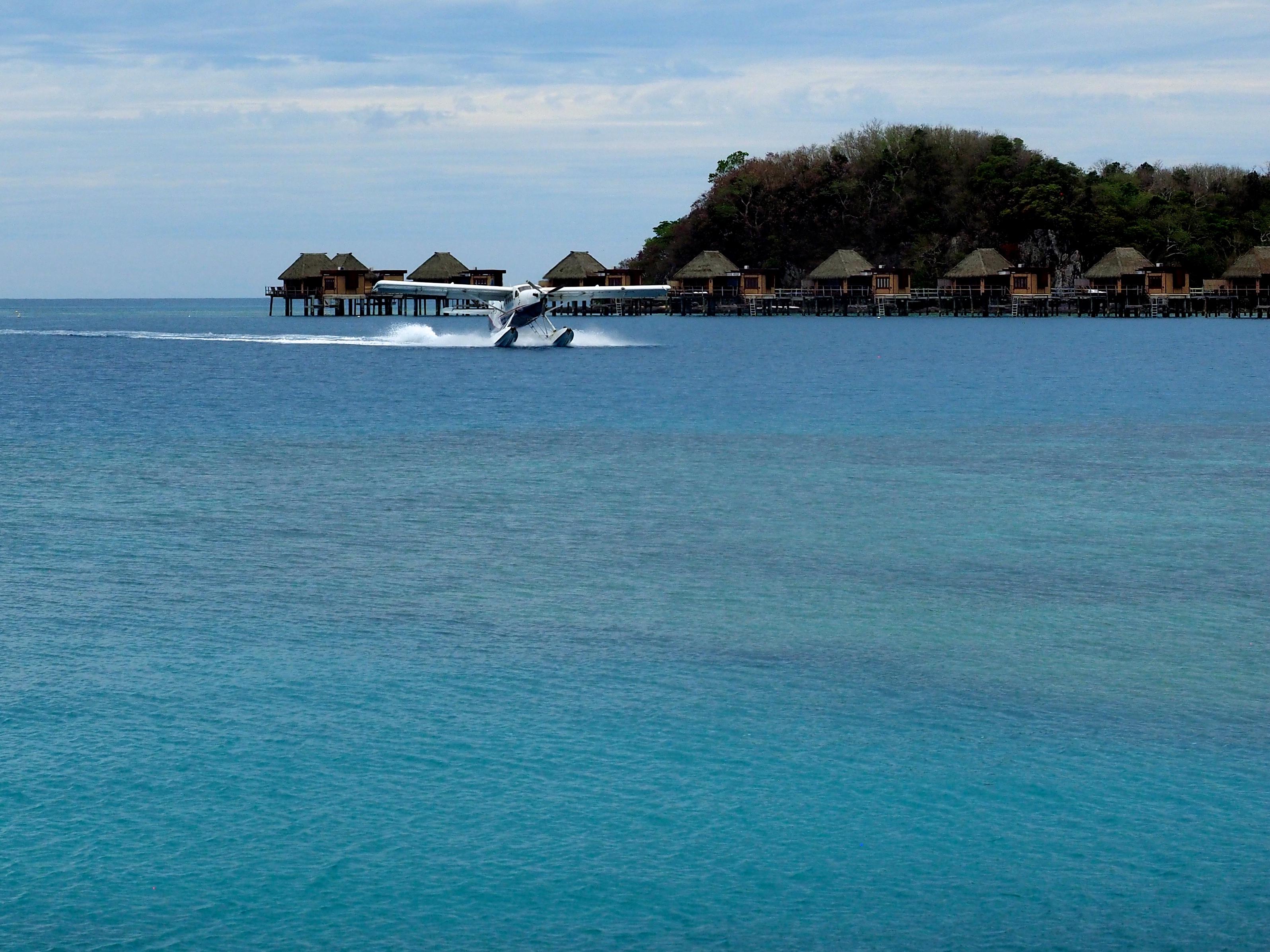 Amerrissage à Likuliku Lagoon - Fidji - Grand Voyage 2017