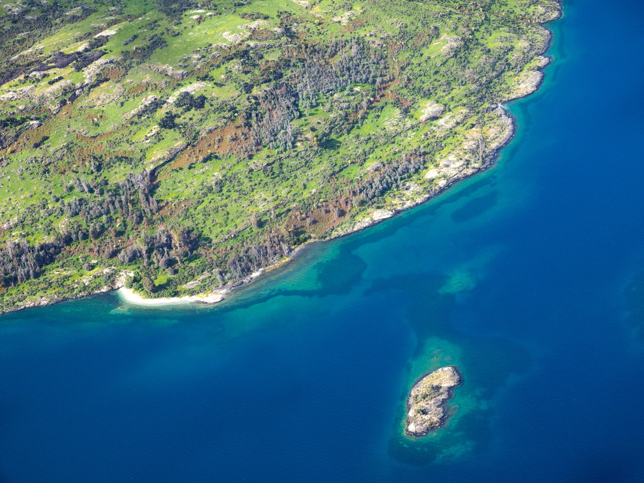 Les rives du Lac Wakatipu