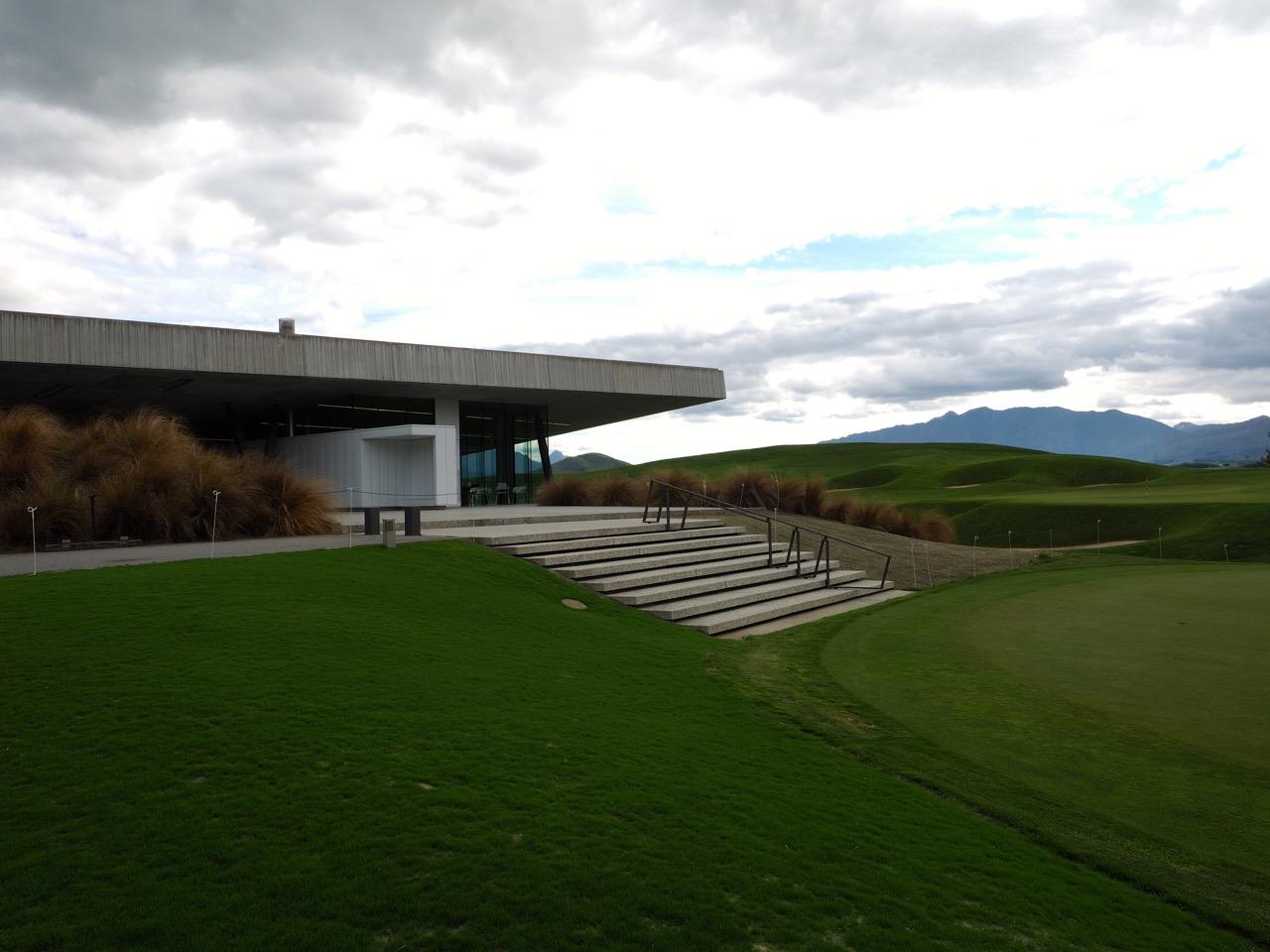 Le club-house du  Hills Golf Club