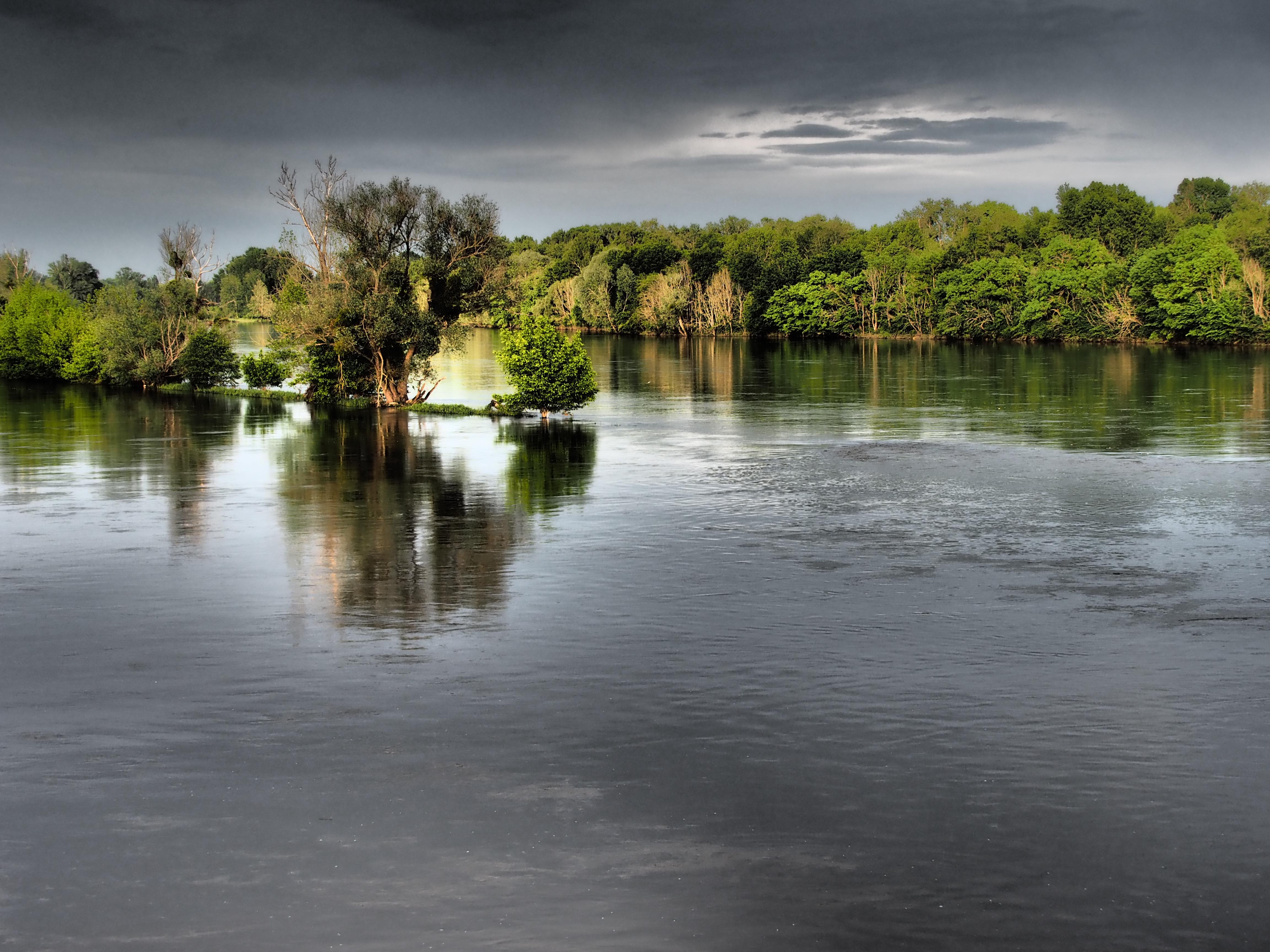 La Loire depuis la terrasse